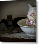 Chamber Pitcher With Basin 2 Metal Print