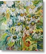 Chamomile Metal Print by Therese AbouNader