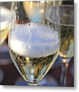 Champagne Celebration Metal Print