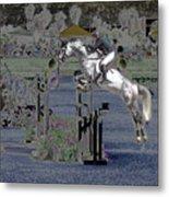 Champion Horse Jumper Metal Print