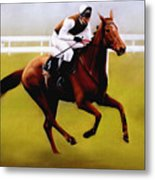 Champion Hurdle - Winner - Morley Street Metal Print