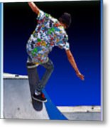 Champion Skater Metal Print