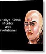 Chanakya The Great Metal Print