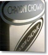 Chandi Chowk Metal Print