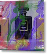 Chanel Coco Abstract Metal Print