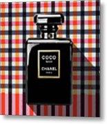 Chanel Coco Noir-pa-kao-ma2 Metal Print