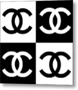 Chanel Design-5 Metal Print