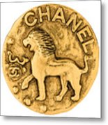 Chanel Jewelry-1 Metal Print