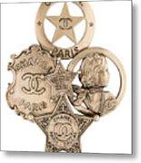 Chanel Jewelry-16 Metal Print