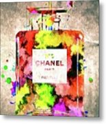 Chanel No. 5 Colored  Metal Print