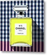 Chanel-no.5-pa-kao-ma1 Metal Print
