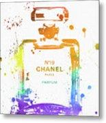 Chanel Number Nineteen Metal Print