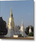 Chang Mai Temple Metal Print