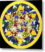 Changes   Mandala Series Metal Print