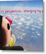 Changing My Perspective Metal Print
