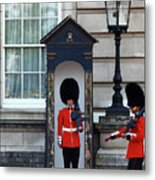 Changing Of The Guard 2 Metal Print
