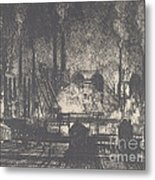 Changing Shifts, Charleroi Metal Print