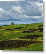 Changing Skies And Landscape Metal Print