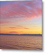 Channel Islands And Pacific At Sunset Metal Print