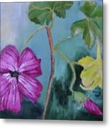 Channel Islands' Island Mallow Metal Print