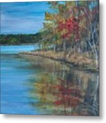 Channings Lake Metal Print