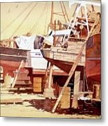 Chantier Naval Metal Print