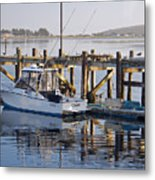 Chaos near Bodega Bay Metal Print