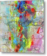 Chaotic Craziness Series 1989.033014 Metal Print