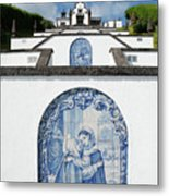 Chapel In The Azores Metal Print