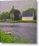 Chapel In The Mist - Gougane Barra - County Cork - Ireland Metal Print