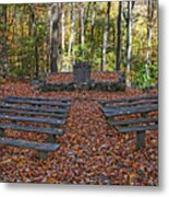 The Chapel In The Park Metal Print