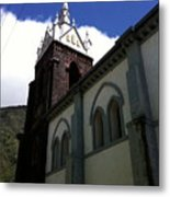 Chapel In The Square Metal Print