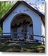 Chapel Of Rietz Calvary Tyrol Austria Metal Print