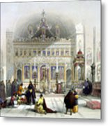 Chapel Of The Convent Of St Saba Metal Print