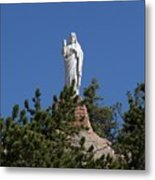 Chapel On A Rock 3 Metal Print