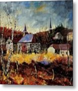 Chapelle D'havenne  Metal Print