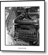 Chapter One Metal Print by Monroe Snook