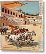 Chariot Races To Byzantium Metal Print