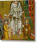 Charlemagne (742-814) Metal Print