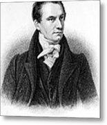 Charles Babbage, English Computer Metal Print