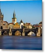Charles Bridge Metal Print