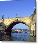Charles Bridge, Prague Metal Print