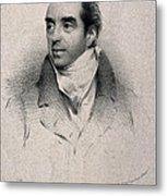 Charles Hatchett, English Chemist Metal Print