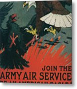 Join The Army Air Service Metal Print