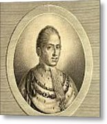 Charles X Also Called  Until 1824 Metal Print