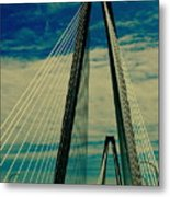 Charleston Bridge II Metal Print