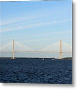 The Cooper River Bridge Metal Print