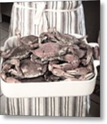 Charleston Crab Boil Metal Print