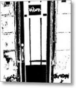Charleston Door Metal Print