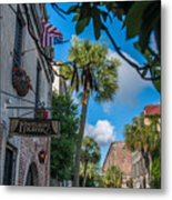 Charleston Footlight Players Metal Print